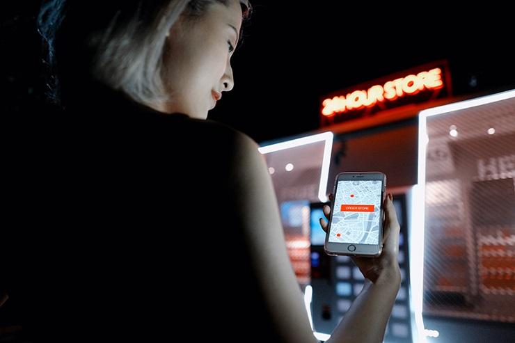 ВКитайской народной республике появился 1-ый передвижной магазин без продавцов