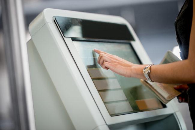 Банковские терминалы самообслуживания