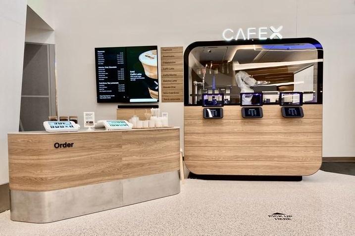 Роботизированная кофейня Cafe X