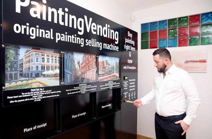 Paintingvending
