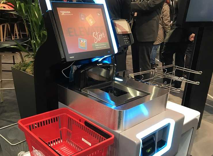 Self checkout system 6