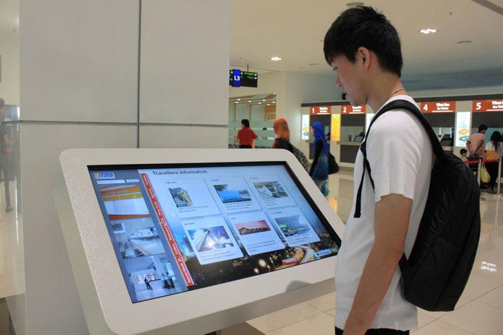 Touch kiosk