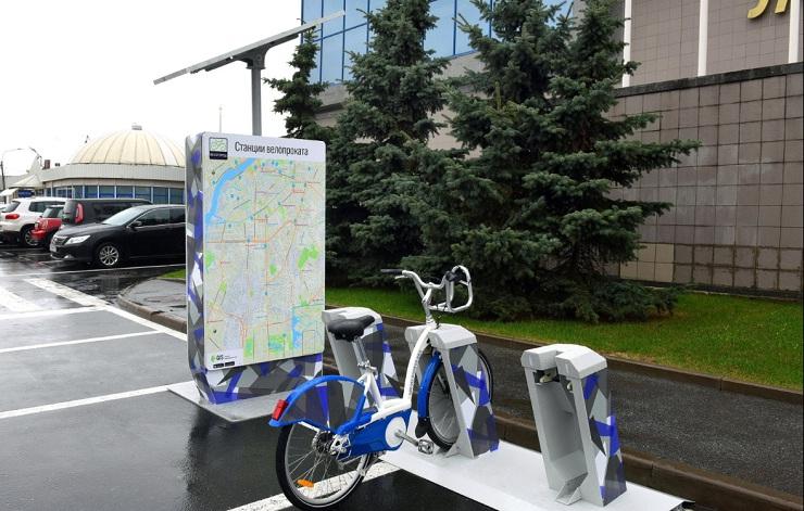 ВПетергофе запустят 10 станций городского велопроката свежей модели