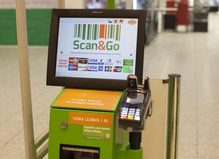 В русских гипермаркетах запустят систему закупок без кассира Scan&Go