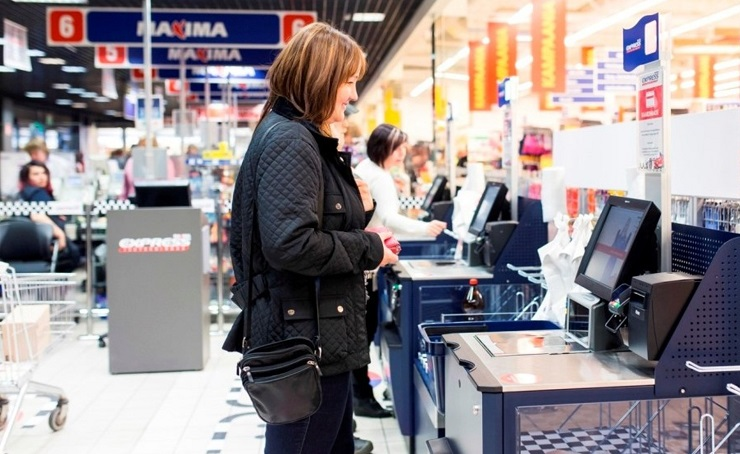 Maxima selfcheckout