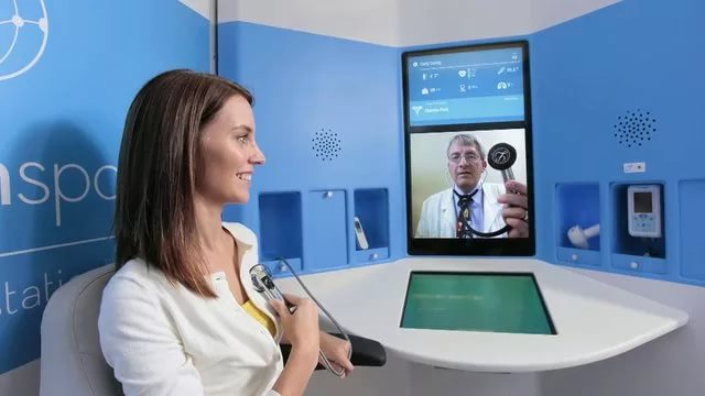Telehealth kiosks