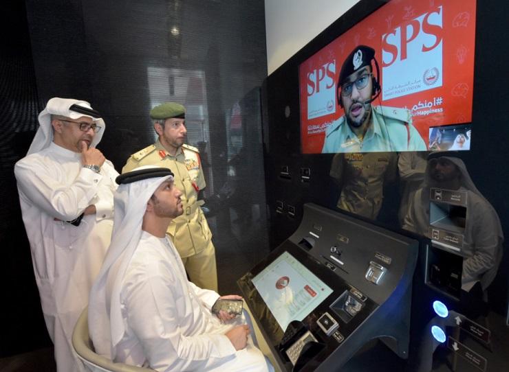 ВДубае открылся 1-ый на100% автоматизированный полицейский участок