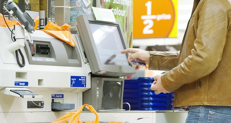 Bedronka self checkout