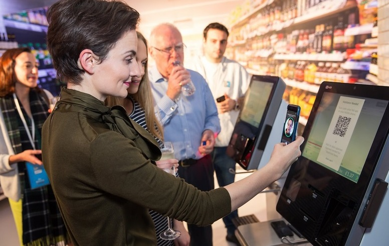 Facial recognition checkout