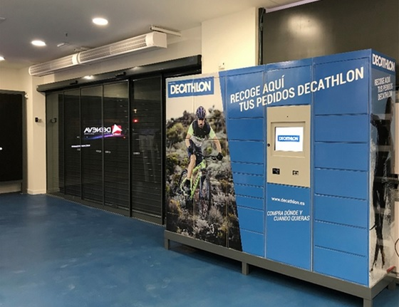 Испанский Decathlon будет развивать сервис Click & Collect на базе сети почтоматов Pudo