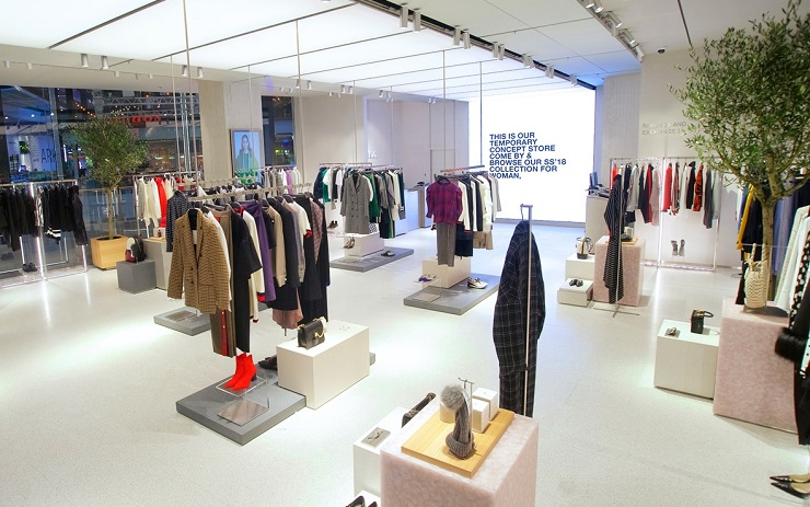 Zara pop up