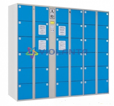 Card electronic locker